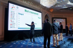 World Beach Handball Championships, Oman 2012 - Draw